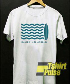 Surf Malibu Los Angeles t-shirt for men and women tshirt