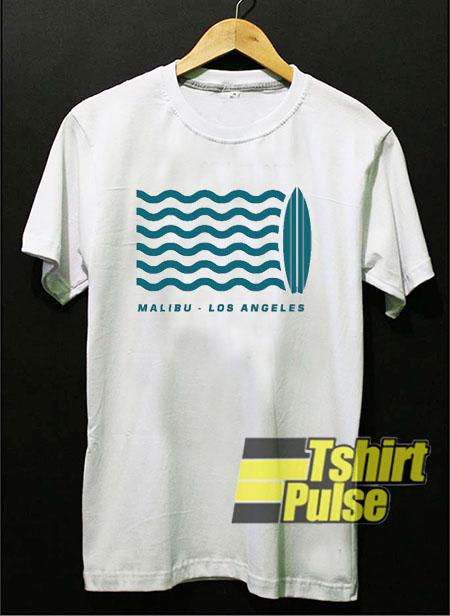 Surf Malibu Los Angeles t shirt for men and women tshirt