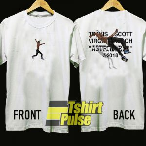 Travis Scott X Virgil Abloh Astroworld t-shirt for men and women tshirt