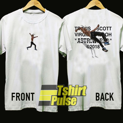 Travis Scott X Virgil Abloh Astroworld t shirt for men and women tshirt