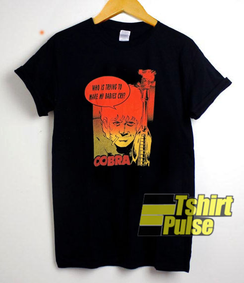 Vintage Anime Cobra Cospa t-shirt for men and women tshirt