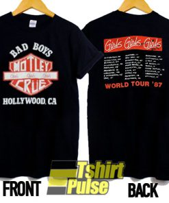 Vintage Motley Crue Bad Boys t-shirt for men and women tshirt