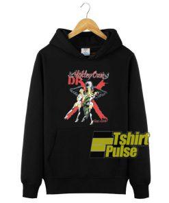 Vintage Motley Crue Dr Feelgood hooded sweatshirt clothing unisex hoodie