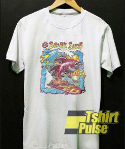 Vintage Shark Surf t-shirt for men and women tshirt