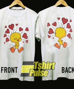 Vintage Tweety Fallin In Love t-shirt for men and women tshirt