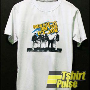 Vtg New Kids On The Block Group t-shirt for men and women tshirt