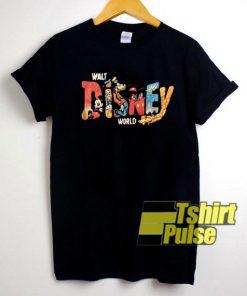 Walt Disney World Print t-shirt for men and women tshirt