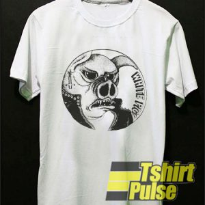 White Pigs Art t-shirt for men and women tshirt