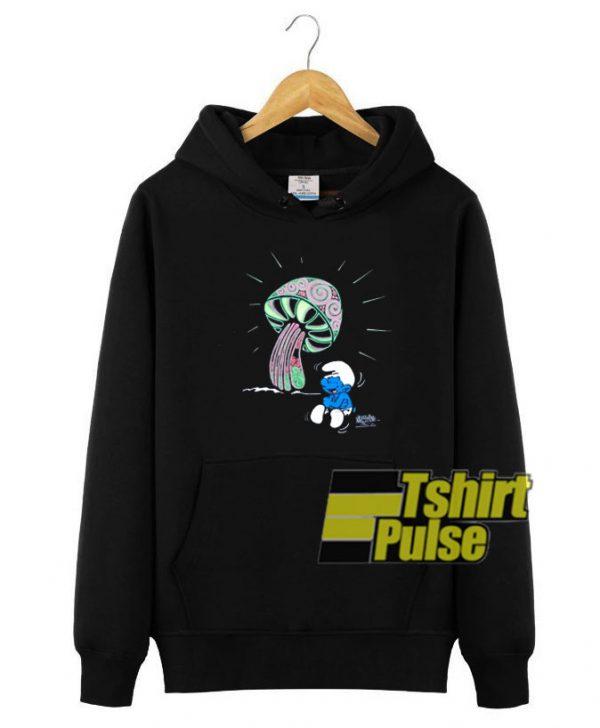 1998 Smurfs Cartoon hooded sweatshirt clothing unisex hoodie