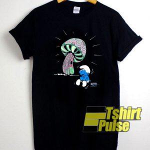 1998 Smurfs Cartoon t-shirt for men and women tshirt
