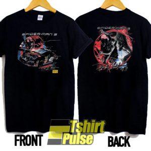 2000s Spider Man Nascar t-shirt for men and women tshirt