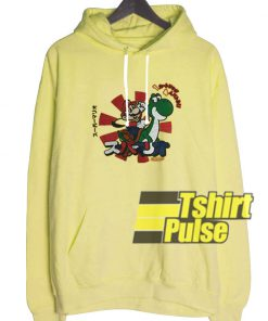 2009 Mario Yoshi hooded sweatshirt clothing unisex hoodie