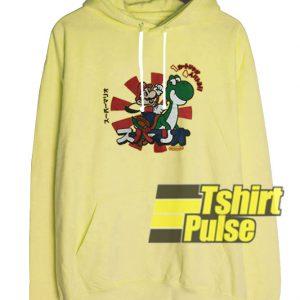 2009 Mario Yoshi hooded sweatshirt clothing unisex hoodie