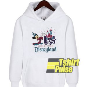 35 Years Magic Disneyland hooded sweatshirt clothing unisex hoodie