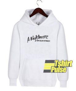 A Nightmare On Elm Street hooded sweatshirt clothing unisex hoodie