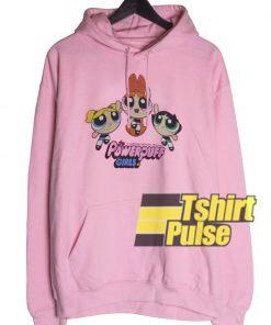 Bubble Gum Powerpuff Girls hooded sweatshirt clothing unisex hoodie