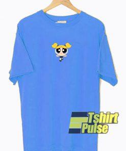 Bubbles Powerpuff Blue t-shirt for men and women tshirt