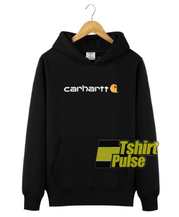 Carhartt Signature Logo Midweight hooded sweatshirt clothing unisex hoodie