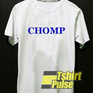 Chomp Letter t-shirt for men and women tshirt