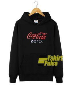 Coca-Cola Zero hooded sweatshirt clothing unisex hoodie