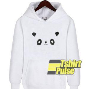 Cute Face Panda hooded sweatshirt clothing unisex hoodie
