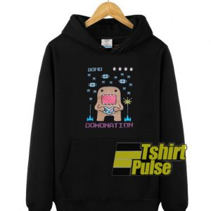 DOMO Domonation hooded sweatshirt clothing unisex hoodie