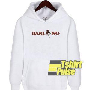 Darling Rose Art hooded sweatshirt clothing unisex hoodie