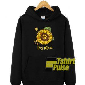 Dog Mom Sunflower hooded sweatshirt clothing unisex hoodie