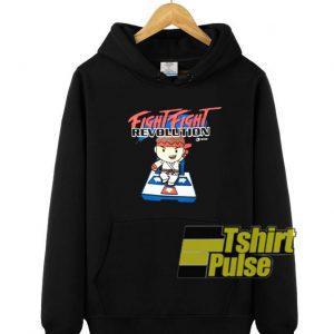 Fight Fight Revolution hooded sweatshirt clothing unisex hoodie