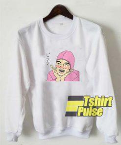 Fithy Frank Pink Guy sweatshirt