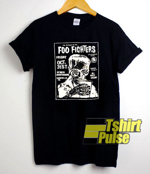 Foo Fighters Halloween t-shirt for men and women tshirt