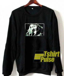 Girl Anime Graphic sweatshirt