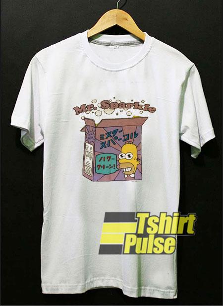Homer Mr Sparkle t-shirt for men and women tshirt