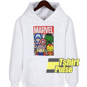 Kawaii Marvel Avengers hooded sweatshirt clothing unisex hoodie