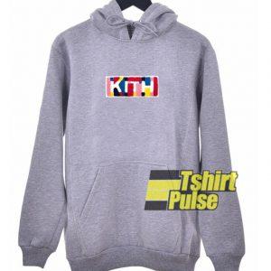 Kith Rainbow hooded sweatshirt clothing unisex hoodie