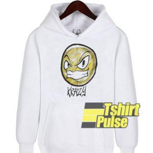 Krazy Airbrush hooded sweatshirt clothing unisex hoodie
