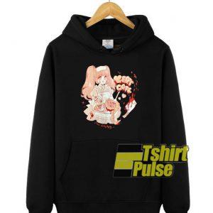 Meat Cafe Anime hooded sweatshirt clothing unisex hoodie