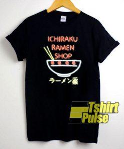 Naruto Shippuden Ichiraku Ramen Shop t-shirt for men and women tshirt
