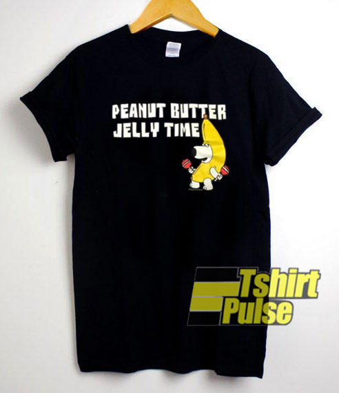 Peanut Butter Jelly Time t-shirt for men and women tshirt