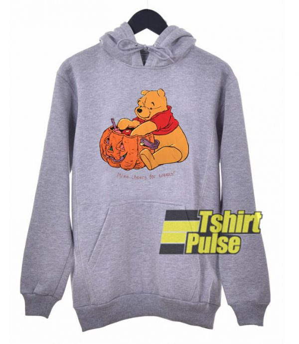 Pooh Three Cheers For Treats hooded sweatshirt clothing unisex hoodie