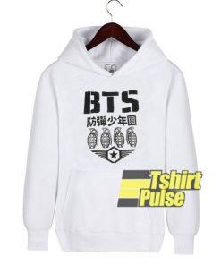Remera Bts Logo Mujer Kpop hooded sweatshirt clothing unisex hoodie