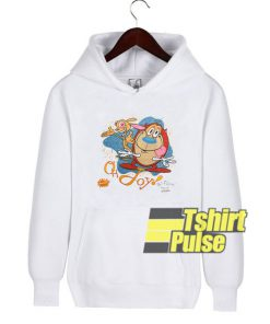 Ren & Stimpy Oh Joy hooded sweatshirt clothing unisex hoodie