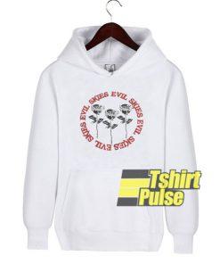 Skies Evil Roses hooded sweatshirt clothing unisex hoodie
