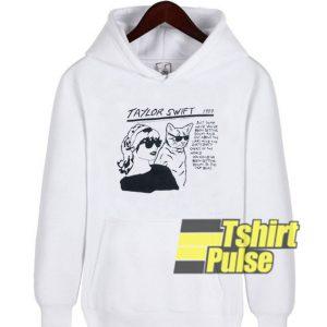 Taylor Swift Sonic Youth hooded sweatshirt clothing unisex hoodie