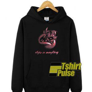 Taz Style is Everything hooded sweatshirt clothing unisex hoodie
