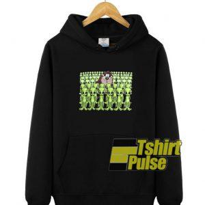 Tazmania And Aliens hooded sweatshirt clothing unisex hoodie