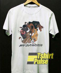 The Lion King Hakuna Matata t-shirt for men and women tshirt