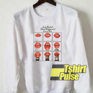 Velvet Underground n Nico sweatshirt