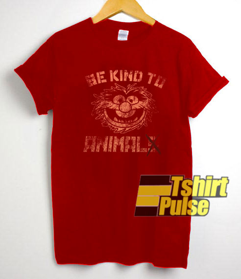 Vintage Muppet Be Kind To Animal t-shirt for men and women tshirt