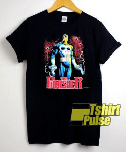 Vintage The Punisher Marvel t-shirt for men and women tshirt